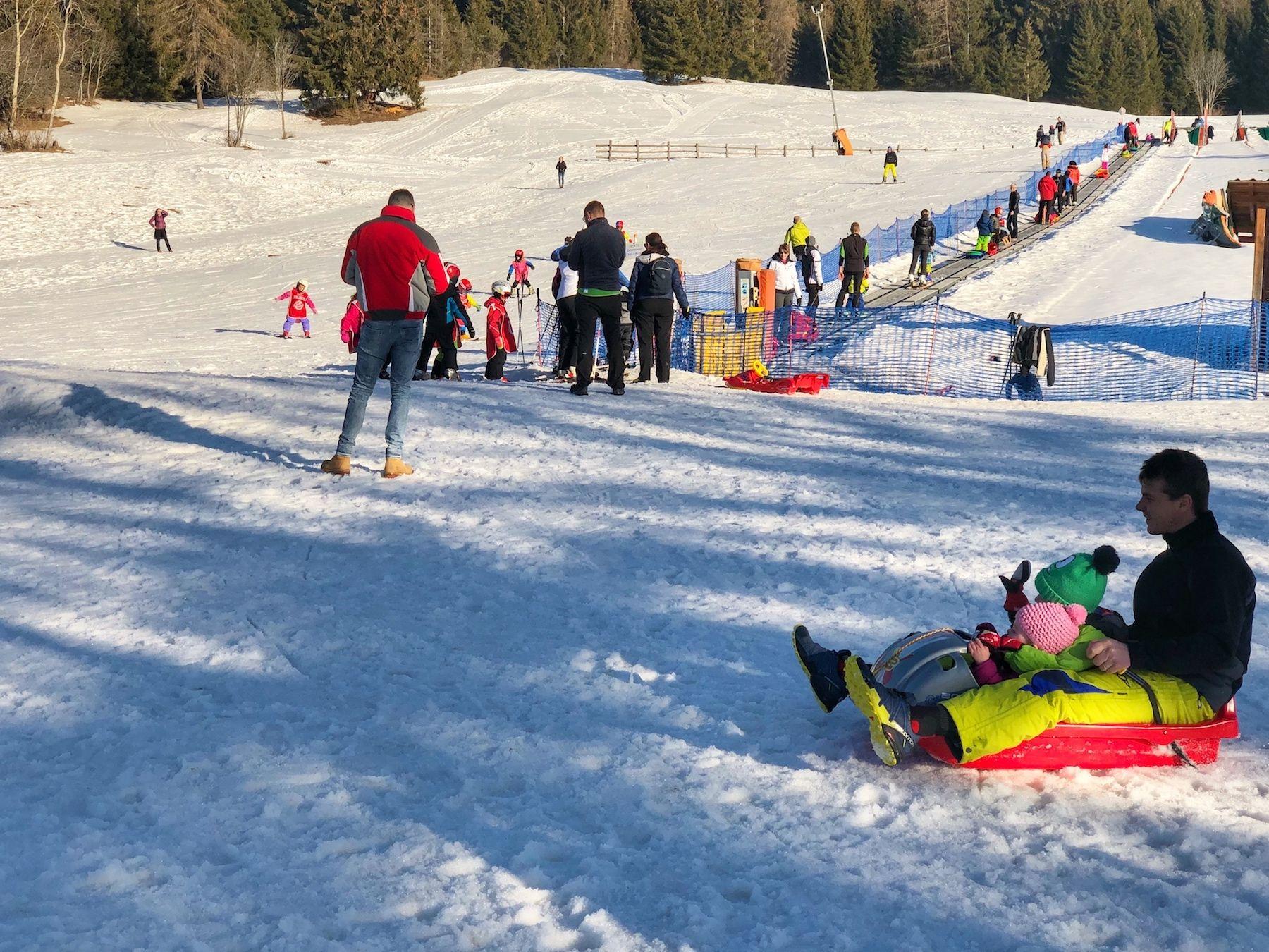 predaia-passo predaia inverno-snow park