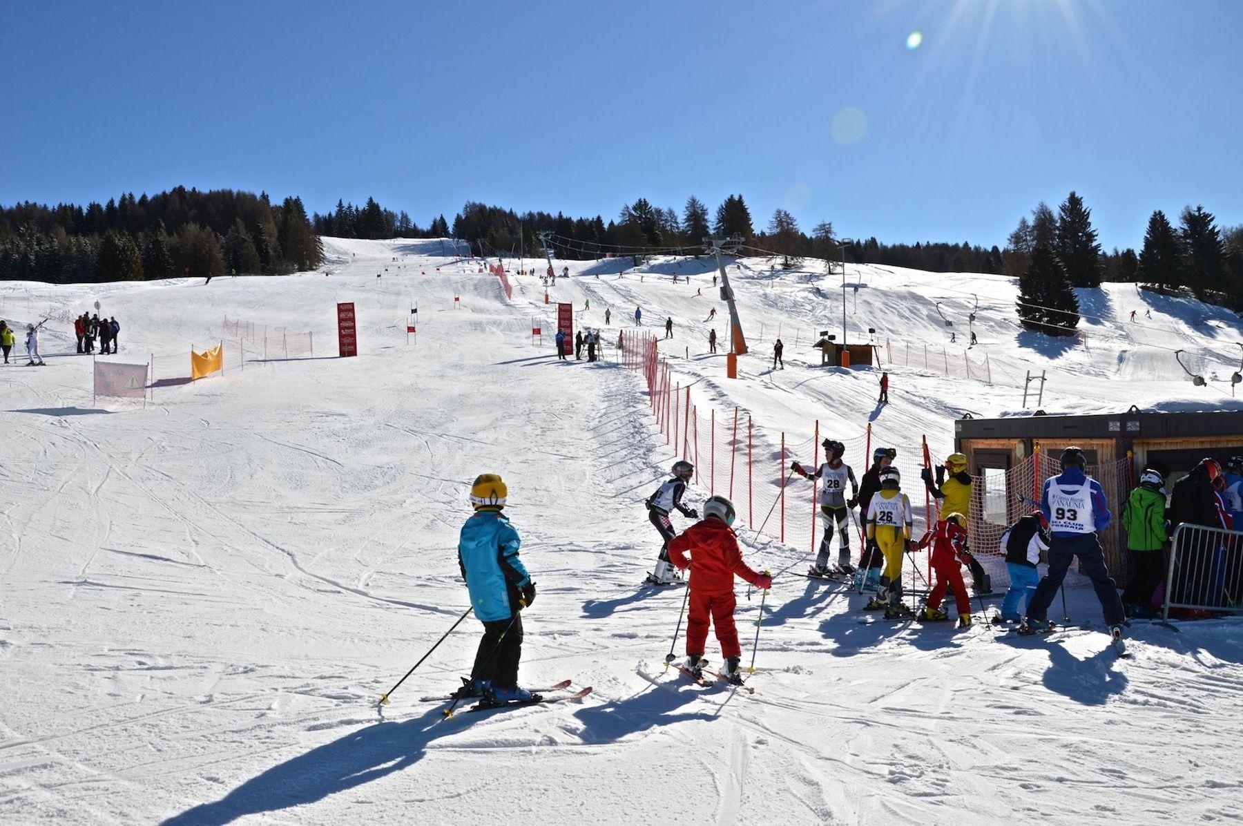 passo predaia inverno-piste da sci